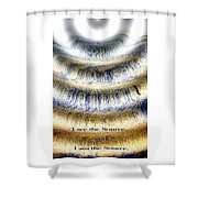 Seeing The Source Shower Curtain