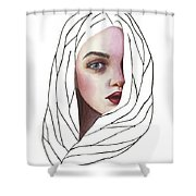 Seeing You Shower Curtain