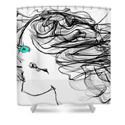 Seer Of Truth Shower Curtain