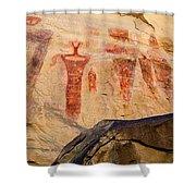 Sego Petroglyphs Utah 3 Shower Curtain