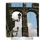 Segovia Aqueduct Shower Curtain