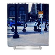 Segway - City Of Chicago Shower Curtain