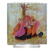 Seher Shower Curtain