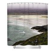 Seilebost Beach Shower Curtain