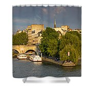 Seine Pano II Shower Curtain