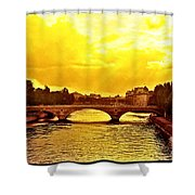 Seine View Shower Curtain