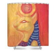 Sekhmet Shower Curtain