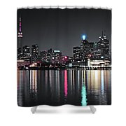 Selective Color Toronto Shower Curtain