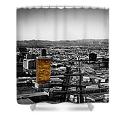 Selective Color Trump Hotel Shower Curtain