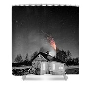 Selective Fire Shower Curtain
