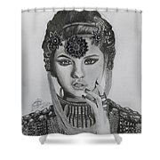 Selena Gomez Shower Curtain