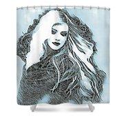 Selenium Blonde Shower Curtain