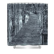 Selenium Boardwalk  Shower Curtain