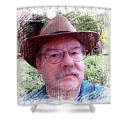 Self Portrait 101516 1a Shower Curtain