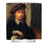 Self Portrait 1635 Shower Curtain