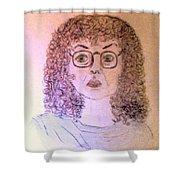 Self-portrait Shower Curtain