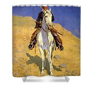 Self Portrait On A Horse 1890 Shower Curtain