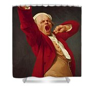 Self Portrait Yawning 1783 Shower Curtain