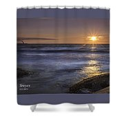 Selkirk Shores Sunset Shower Curtain