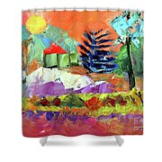 Sellersville Sunset Shower Curtain