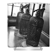 Seltzer Bottles Shower Curtain
