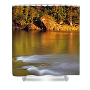 Selway River Shower Curtain