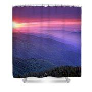 Selway Sunrise Shower Curtain
