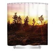 Selway Wilderness Shower Curtain