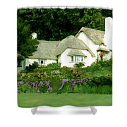 Selworthy Green Shower Curtain