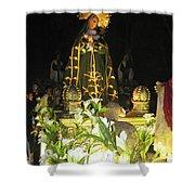 Semana Santa Procession Night Shower Curtain