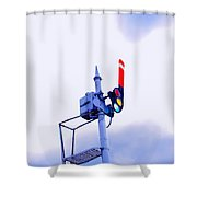 Semaphore Signal Shower Curtain