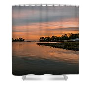 Semblance Of Symmetry Shower Curtain
