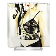 Semi Automatic Shower Curtain