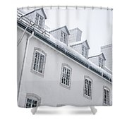 Seminary Of Quebec City In Old Town Shower Curtain