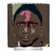 Seminole Warrior Work Number Two Shower Curtain
