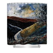 Semois Valley Shower Curtain