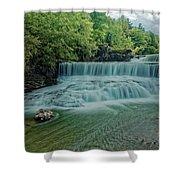 Seneca Mills Waterfall Shower Curtain