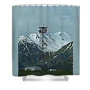 Sending Voices Across The Land Shower Curtain