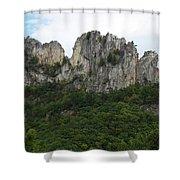 Seneca Rocks Wv Shower Curtain