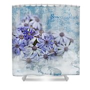Senecio Maderensis Shower Curtain
