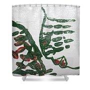 Senior - Tile Shower Curtain