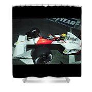 Senna Into 9 Shower Curtain