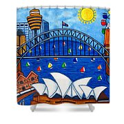 Sensational Sydney Shower Curtain