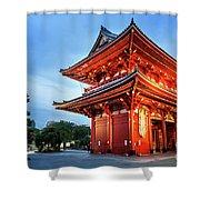 Sensoji Temple Shower Curtain