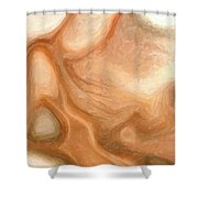 Sensual Disintegration Shower Curtain
