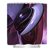 Sensual Healing Abstract Shower Curtain