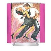 Sensual Tango Shower Curtain