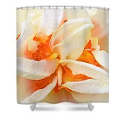 Sent Of A Beautiful Flower Shower Curtain