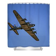 Sentimental Journey In Flight Shower Curtain