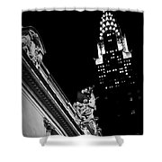 Sentinel For Grand Central Shower Curtain
